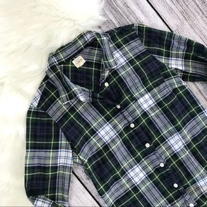 J. CREW The Perfect Shirt In Plaid 00682